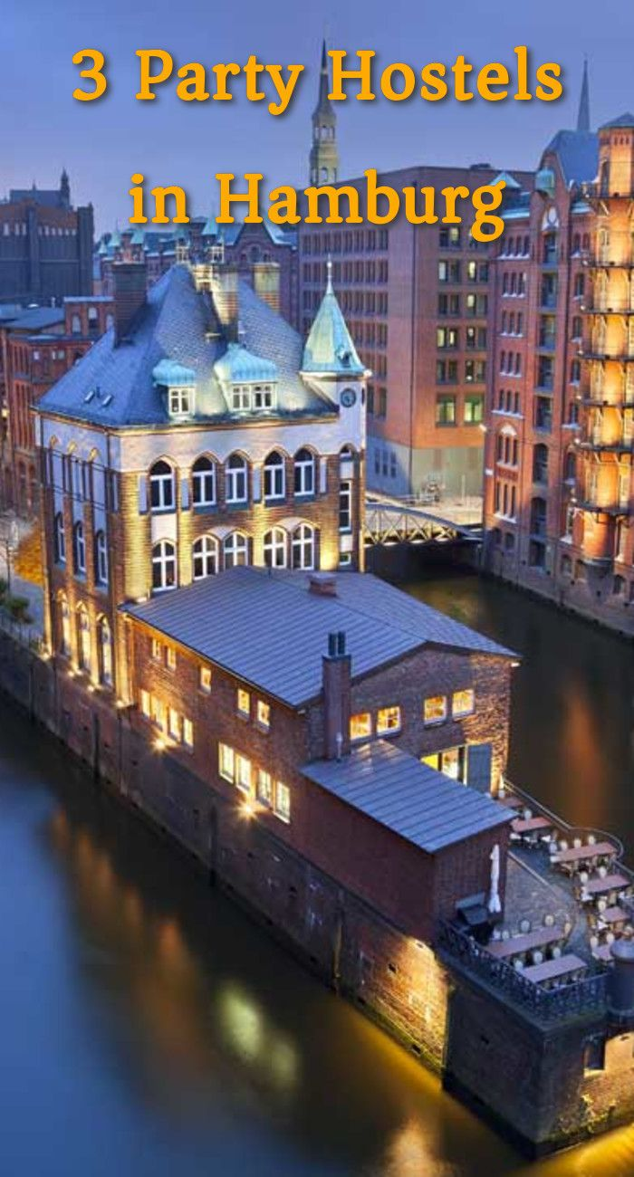 3 Party Hostels in Hamburg: As darkness encloses around the city, like some bioluminescent creature, Hamburg glows with the golds and…