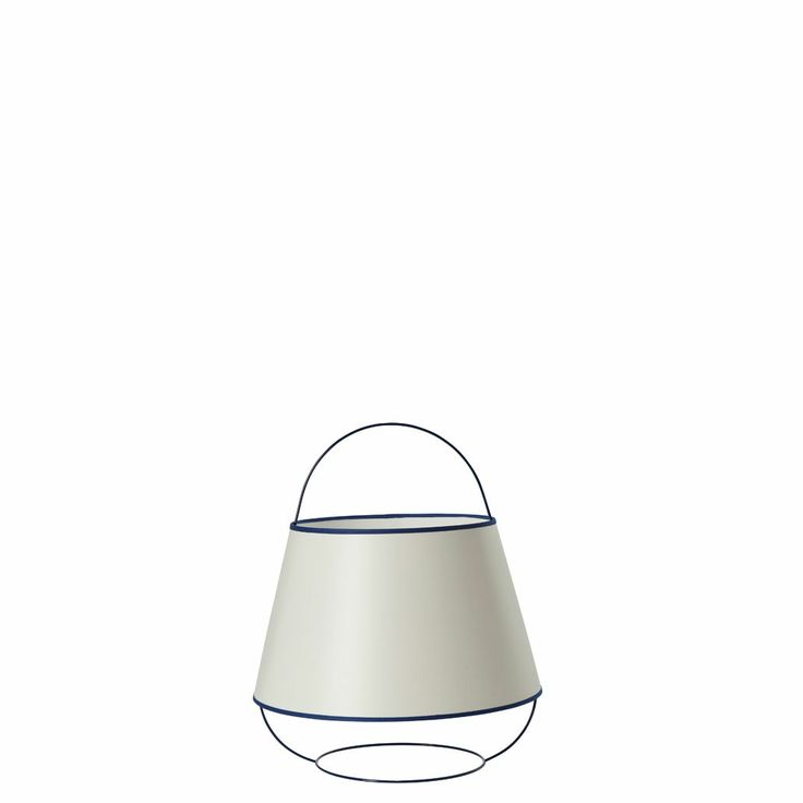 ARRAY LOOP BLUE TABLE LAMP