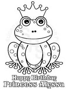 printable frog prince coloring pages yahoo image search results