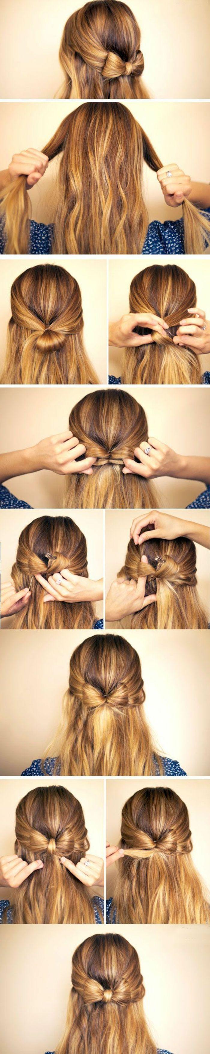 trenzas-de-moda-cabello-largo-rubio-simple-peinado-con-cinta-de-pelo