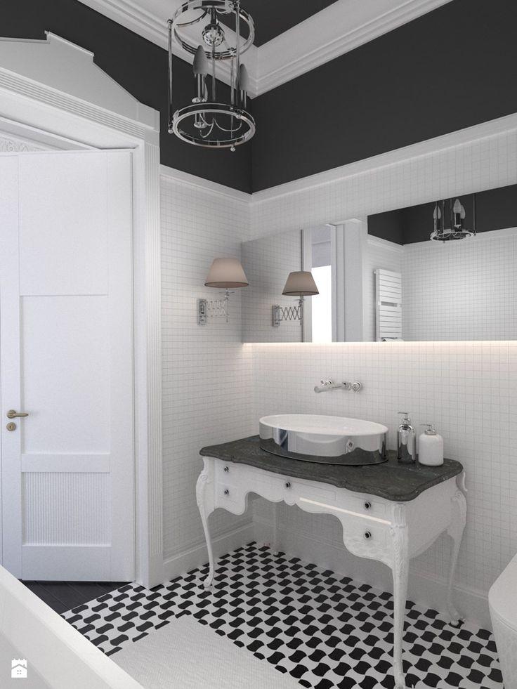 Paryski Apartament w centrum Gdańska - Łazienka, styl klasyczny - zdjęcie od GSG STUDIO   interiors & design