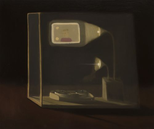 recollection device | oil on canvas | 40cm x 51cm
