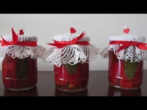 Kışlık Domates Sosu / Canned Seasoned Tomato Sauce - YouTube