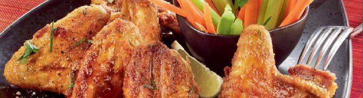 OPTIGRILL: Ailes de poulet grillées style Buffalo