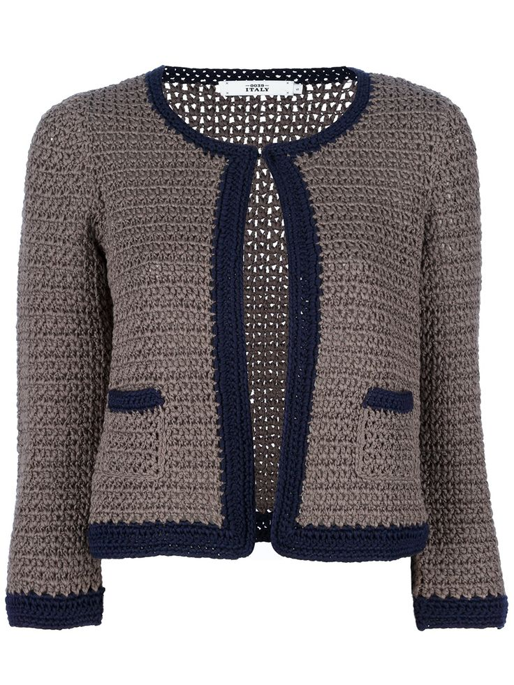 Italy Crochet Cardigan - Petra Teufel - farfetch.com