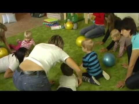 cvičení s dětmi ve Vejprnicích (část 1)