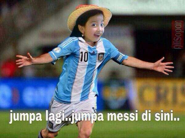 Jumpa Messi... (atau Maisy..?)