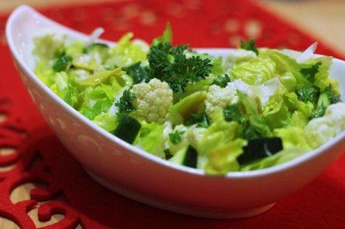 karfiolový šalát s avokádom - Powered by @ultimaterecipe