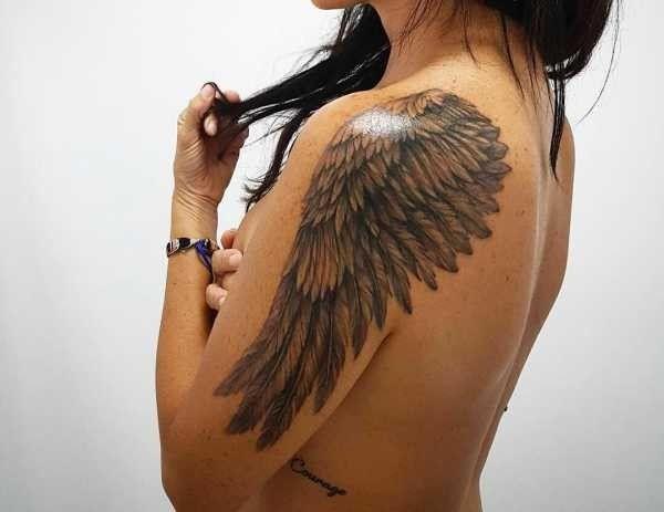 Angelo Significato Idee E Foto Tatuaggi Per Le Donne Tatuaggi