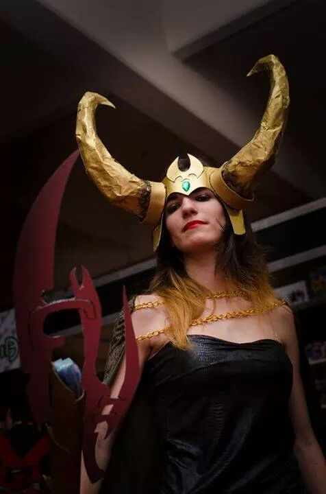 Lady Loki @ Argentina Comic Con 2014 #cosplay #loki #ladyloki