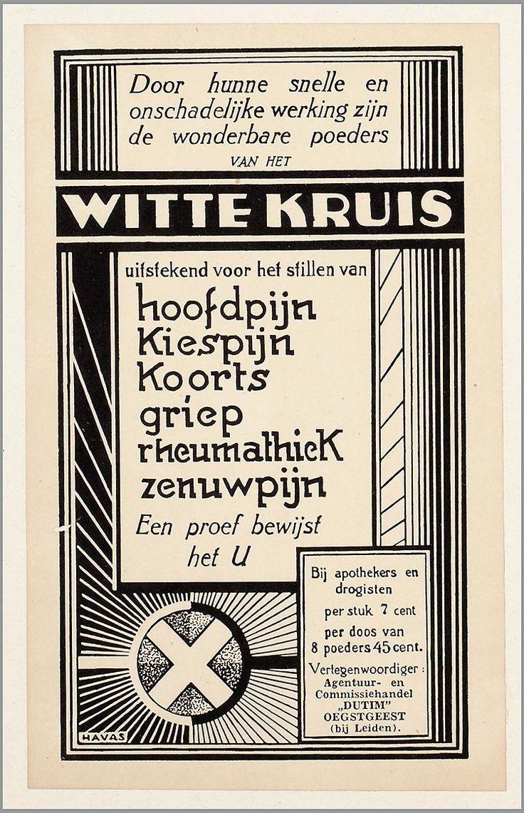 Witte kruis poeders