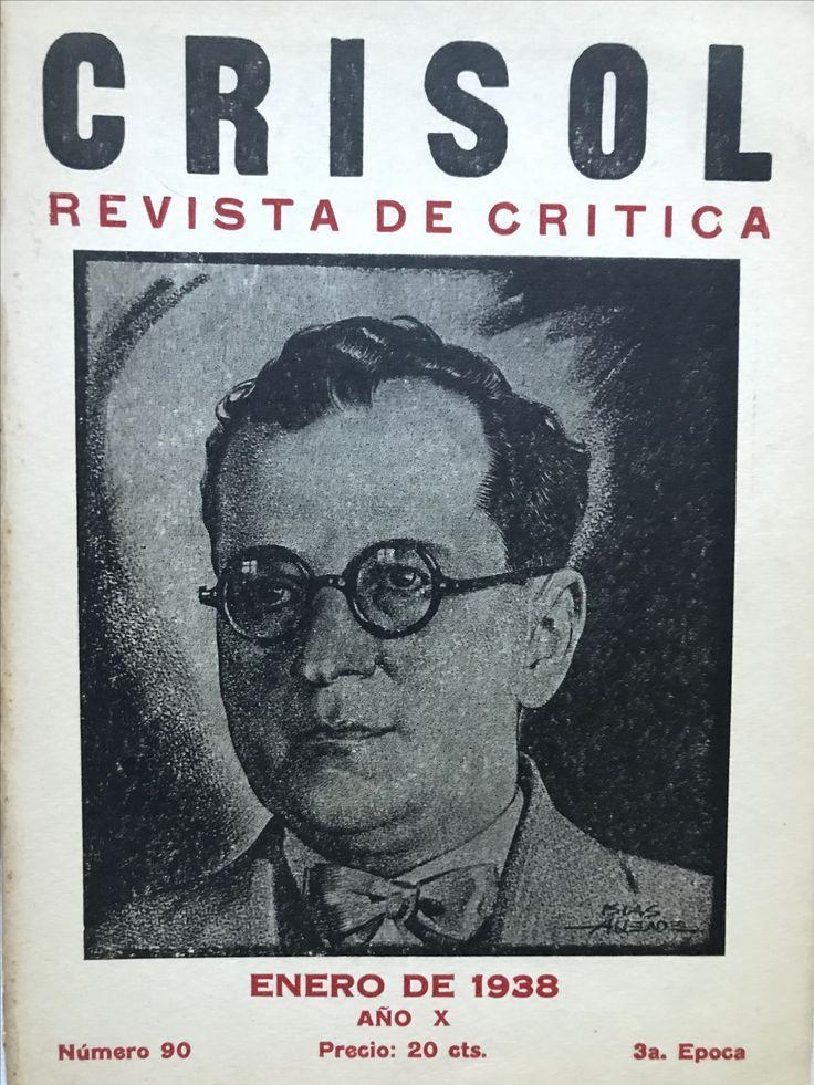 Numero 90. Enero, 1938. Portada Clemente Islas Allende