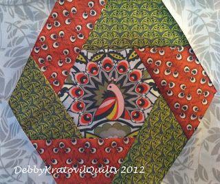 Twisted Hexagon---No Y-Seams---Easy!