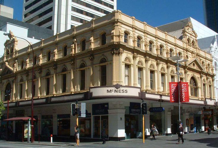 Heritage Perth -- McNess Arcade