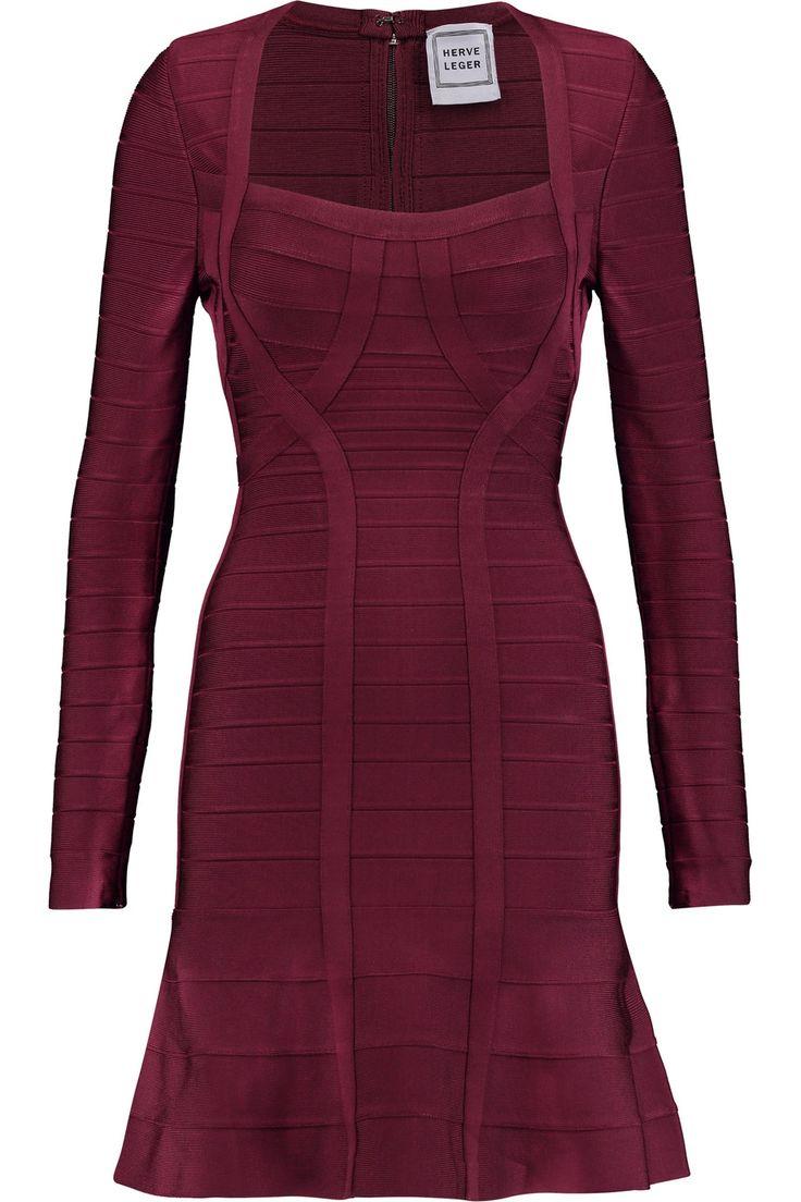 HERVE LEGER Bandage mini dress. #herveleger #cloth #dress
