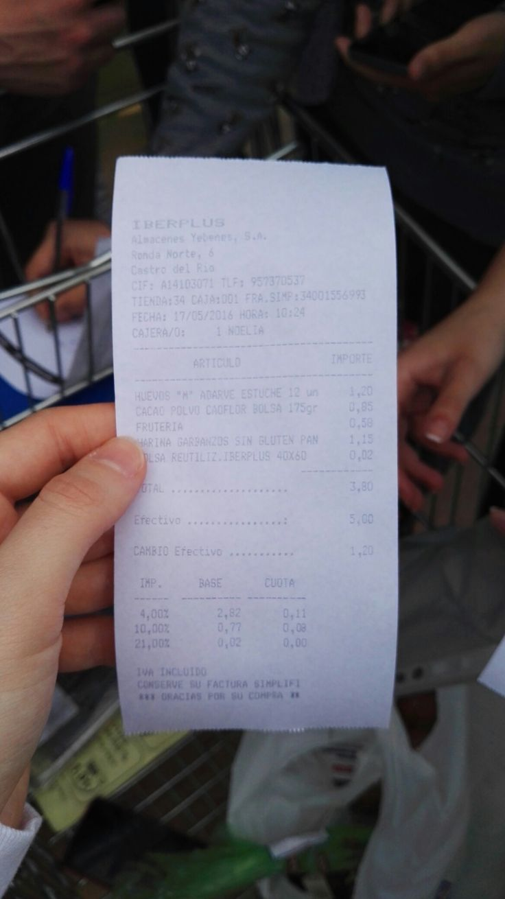 Nuestro ticket