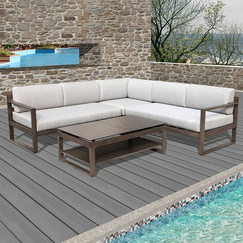 Found It At Wayfair   Melia 4 Piece Deep Seating Group With Cushions