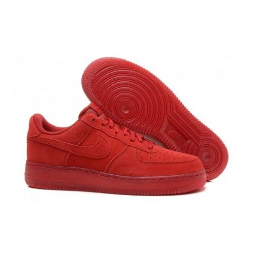 Nike Mulheres - Comprar Nike Air Force 1 07 LV8 Low Suede Mulheres Tenis De Corrida Vermelho 0642