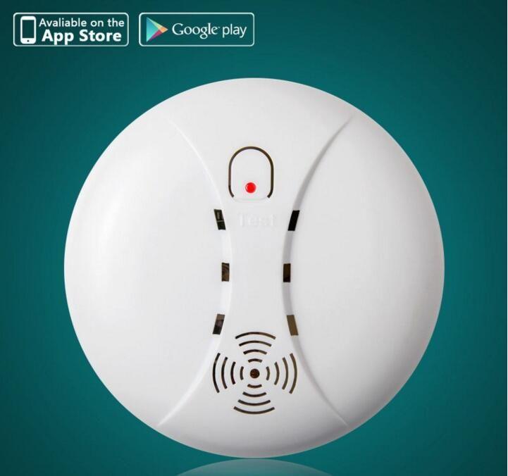 Wireless Smoke Fire Alarm Detector Sensor 433MHz / Alarm Accessories usd for Gsm alarm system