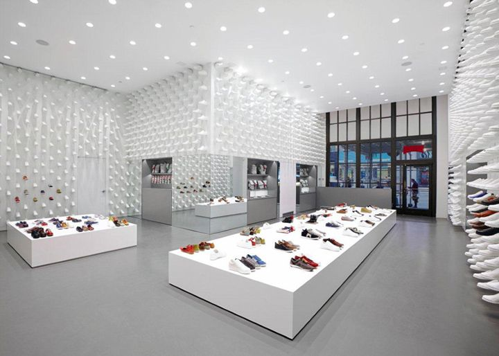 Camper store by Nendo, New York