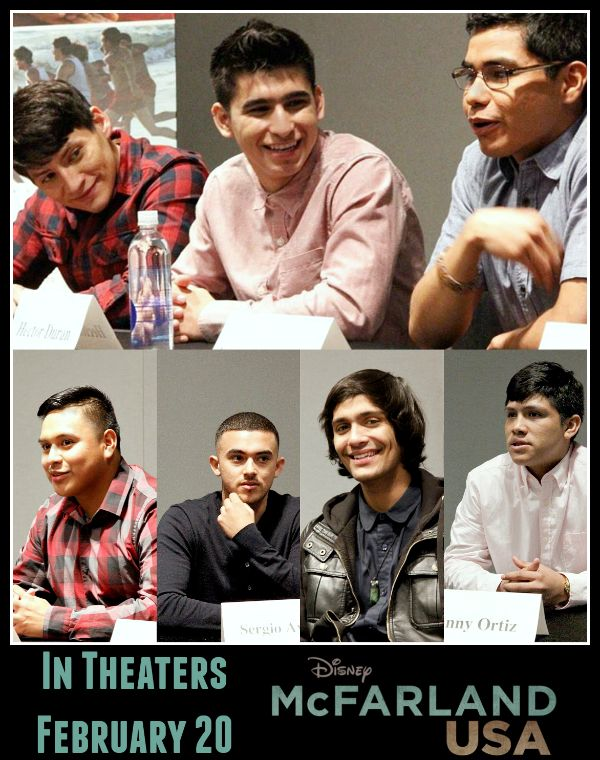 Meet the Team – An Exclusive Interview With the Cast of McFarland USA. #McFarlandUSAEvent