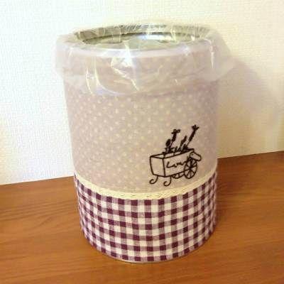 空き缶リメイク(卓上ゴミ箱の作り方)