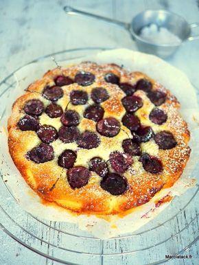 Gâteau aux cerises fondant - Recette facile - Marciatack.fr