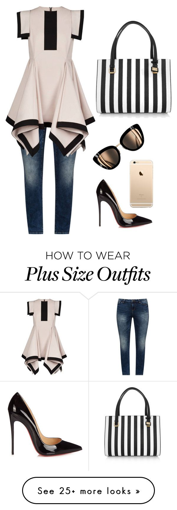 """Sunday Brunch"" by agencyvirtuoso on Polyvore featuring JunaRose, Christian Louboutin and Dolce&Gabbana"