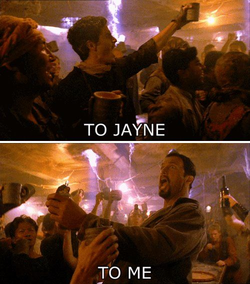 Jaynetown- gets better every time I watch it. #Firefly