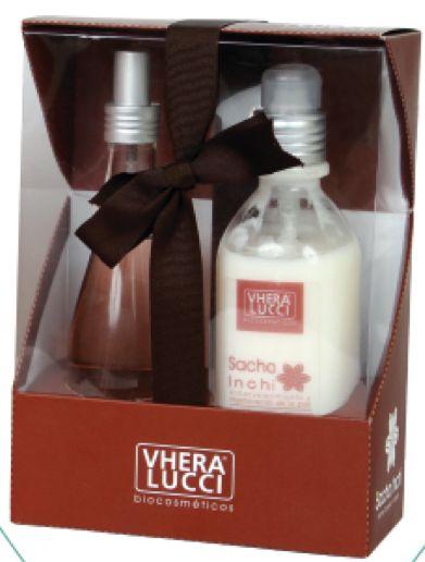 Kit de belleza Corporal hidratante. SACHA INCHI Vhera Lucci