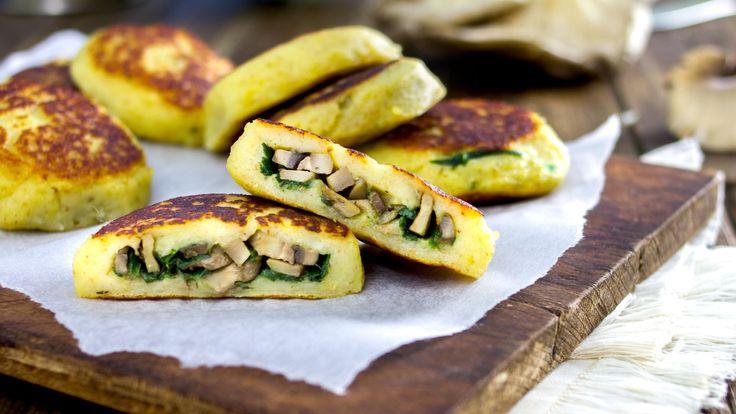 Tortine alle patate ripieni | Ricetta Vegan