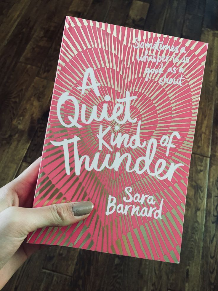A Quiet Kind Of Thunder In 2020 Inspirational Books Book Club