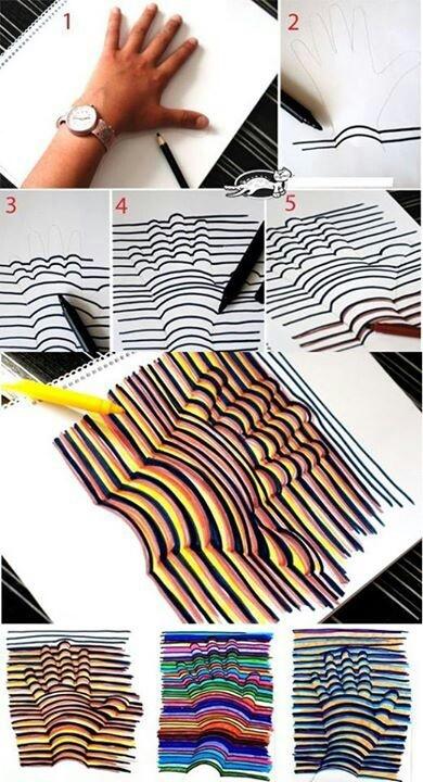 Super god idé, der også kan bruges til silhuetter af f.eks. dyr eller mennesker! :)