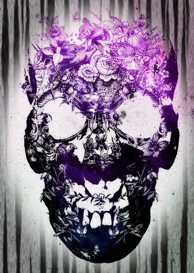 Purple Skull ARt