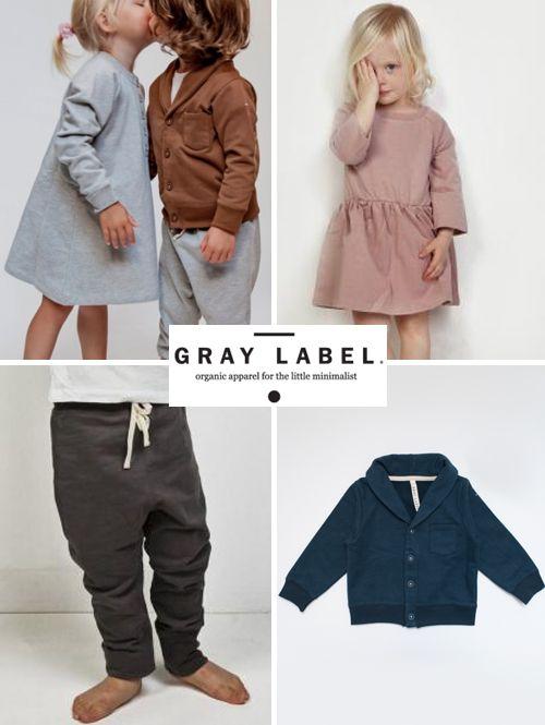 Gray Label, Amsterdam based kids clothing