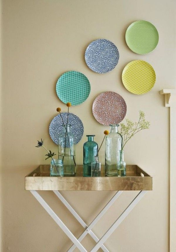 24 Inspirational ideas with plates on wall & 300+ best Plate Art Wall Design images by Lulugem.com on Pinterest ...