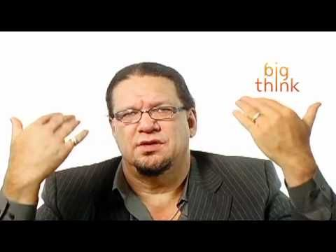 """Penn Jillette talks about loving people even though you may not understand their religiosity or lack thereof. (Video: """"How to raise an atheist family"""")"""