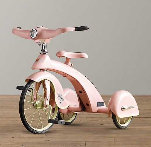 Sky King Junior Tricycle - Petal | Riding Toys | Restoration Hardware Baby & Child