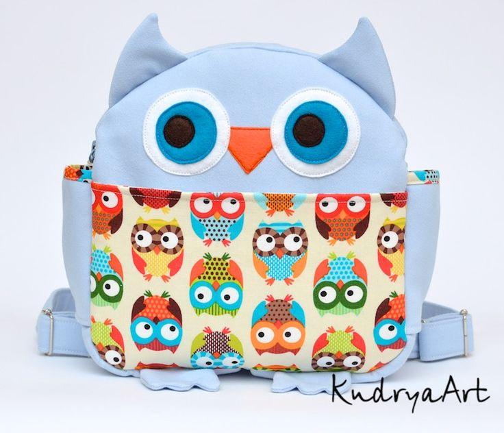 Детские рюкзачки ~ KudryaArt. Авторские сумки и рюкзаки.