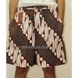 Celana Pendek Batik Jumbo