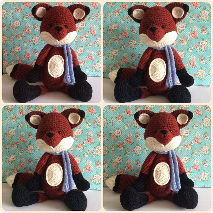 Victor the fox made by Kriziwizi