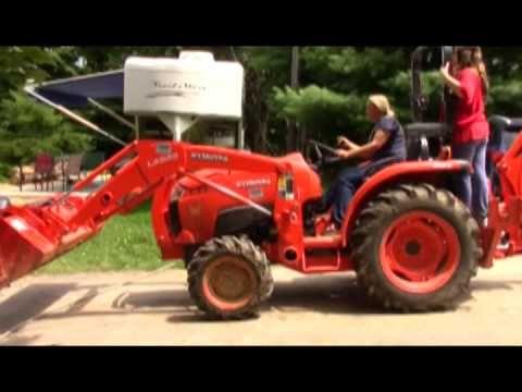 City Folk Having Fun on Kubota L3301 HST Tractor and Lawn Tractors ...