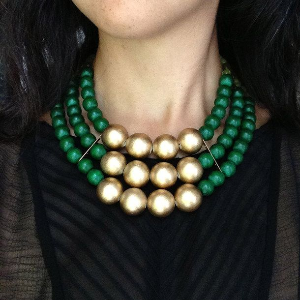 Emeraldscape Necklace | History+Industry