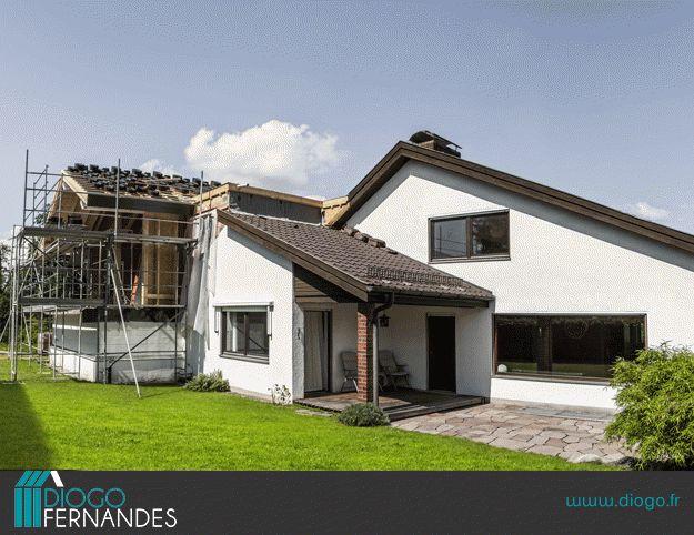 Viac ne 1000 n padov oconstructeur maison na pintereste for Extension maison 73