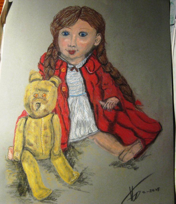 mijn oude pop en beer