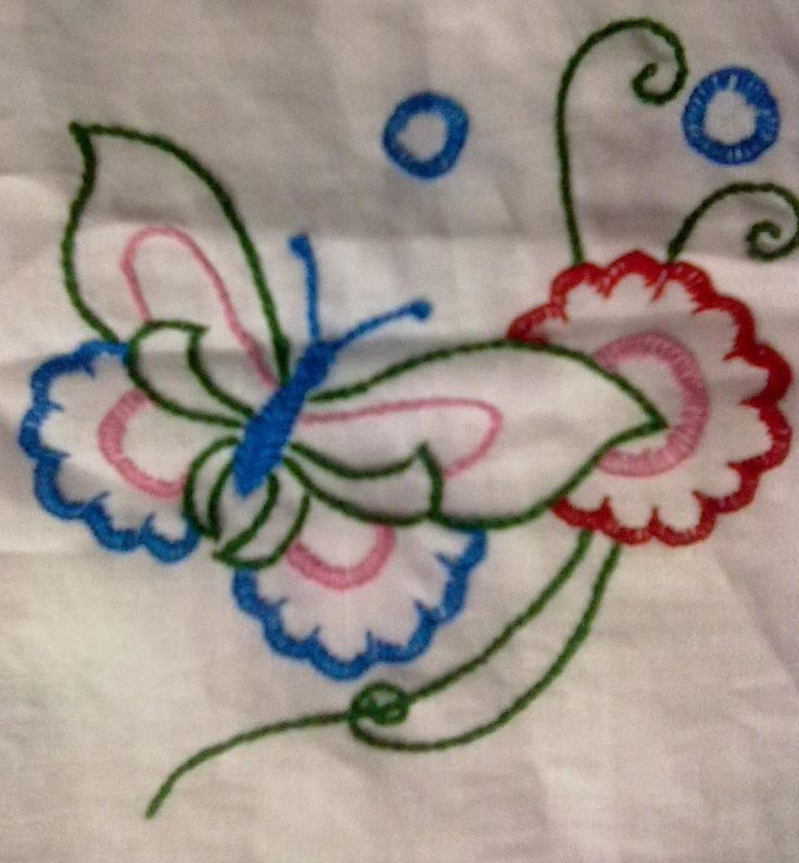 Hand Embroidery Designs For Bed Sheets