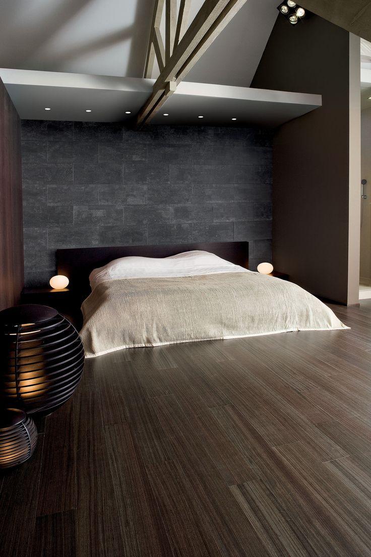 Dankzij een kurkvloer in de slaapkamer worden loopgeluiden sterk afgezwakt  #vloer #kurk #