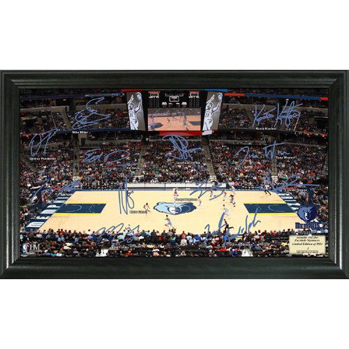 Memphis Grizzlies NBA Memphis Grizzlies Signature Court