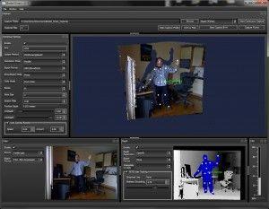 Brekel Kinect (free) bvh capture