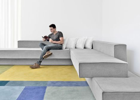 Beautiful Cantilevered Sofas